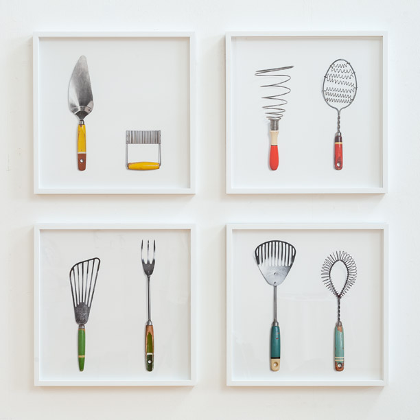 4er-Gruppe Küchenhelfer