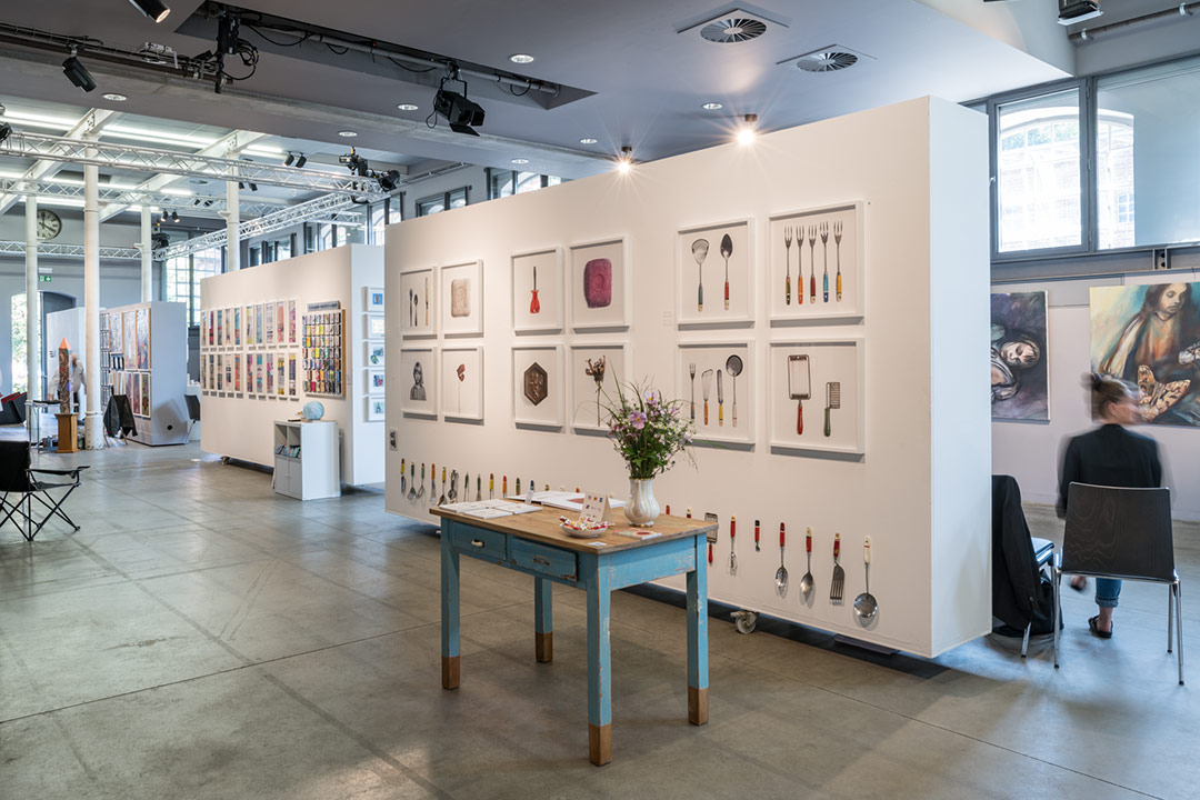 Ausstellungsinstallation artpul Eupen 2021